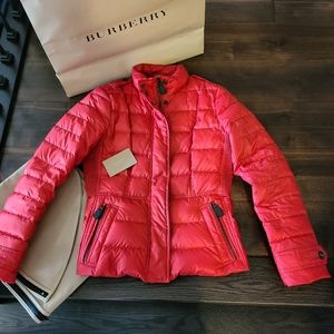 BURBERRY Brit Quilted Puffer Jacket